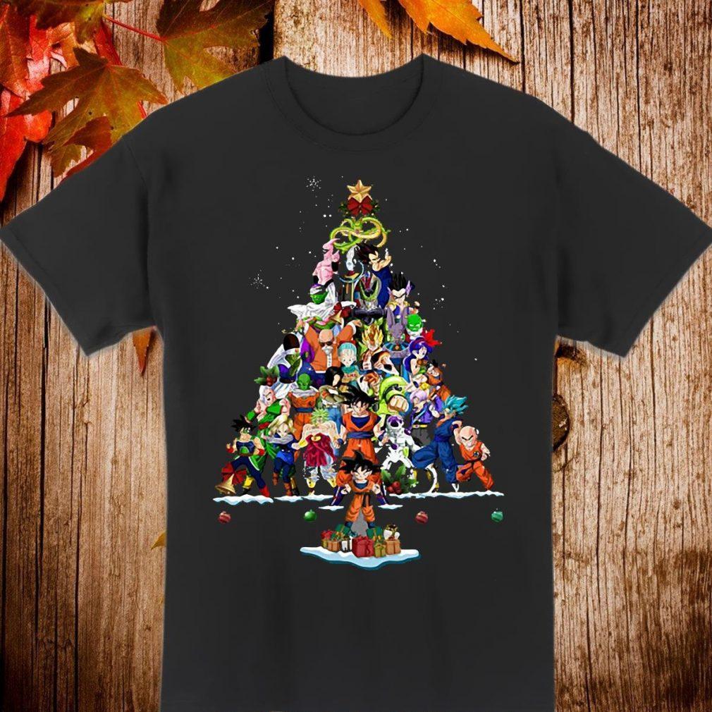 Goku christmas tree Shirt