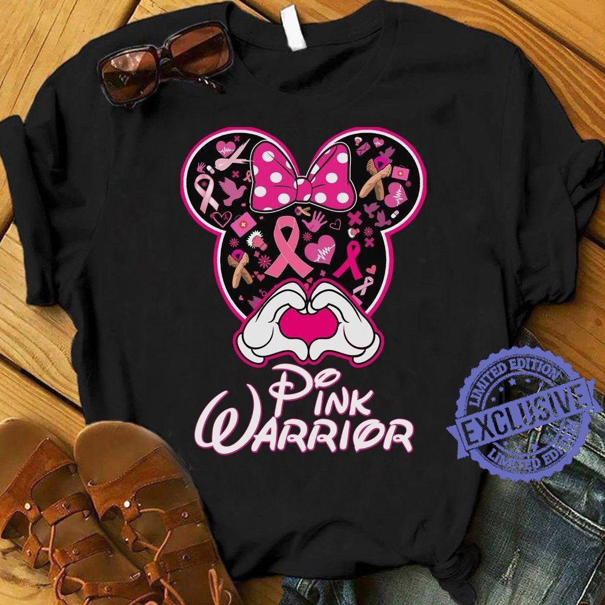 Mickey Pink warrior shirt