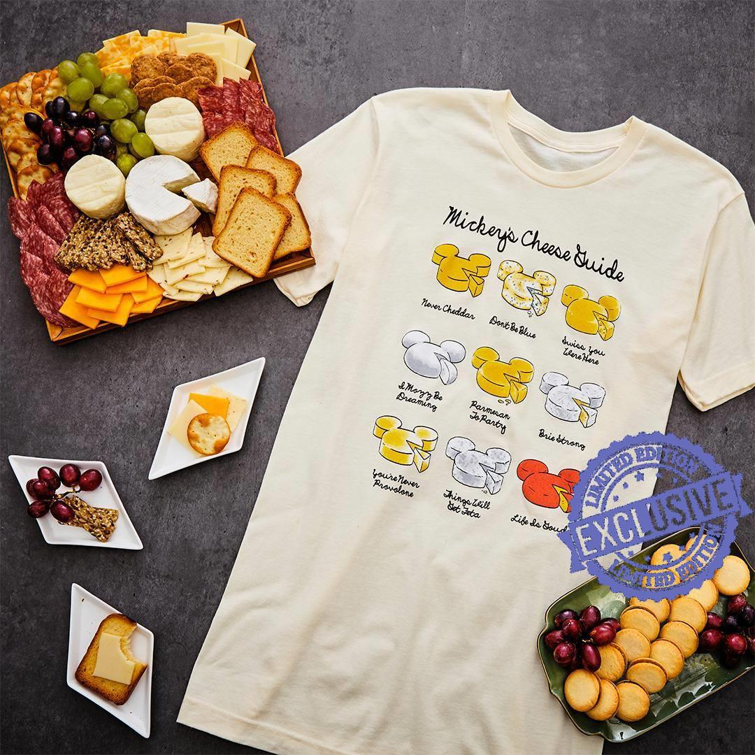 Mickey's cheese nover cheddar shirt