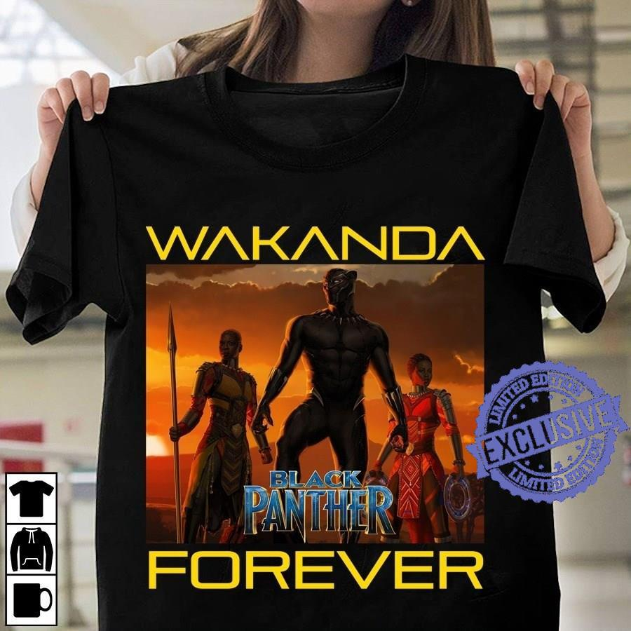 Wakanda black panther forever shirt